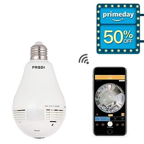 Review FREDI 960P Fisheye IP