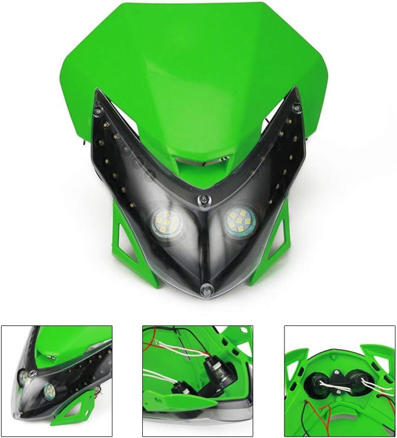 JFG RACING Head Light Fairing Mask Cover Front Headlight Fairing Cowl For Harley Davidson Street XG 500 XG750 2014-2016