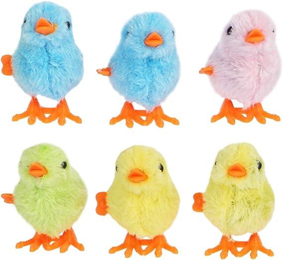 Pasqua Giocattolo a Molla Che Salta Pollo Peluche Pulcino Giocattolo Partito Giocattolo Uova di Pasqua con Pulcino a Molla
