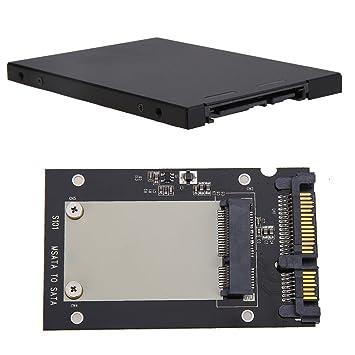 Amazingdeal365 Almacenaje mSATA Caja mSATA SSD a 2.5