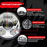 Wisamic 5-3/4 5.75 inch LED Headlight