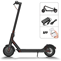 """WiLEES Foldable Electric Scooter Long-Range Battery 8.5"""" Tires 16 MPH & Up to 15 Miles Ultra-Lightweight Cummuter Electric Scooter for Adults"""