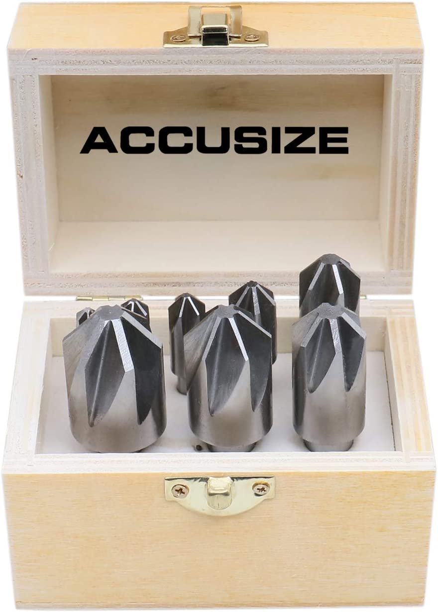 Micro 100 CS-500-090X Double End Countersink /& Chamfer Tool AlTiN Coated 0.210 Length of Cut 1//2 Shank Diameter 2.5 Overall Length Solid Carbide Tool 6 Flute 90/° Included Angle 0.080 Tip Diameter