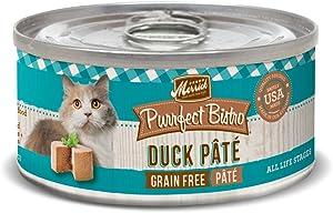 Merrick Purrfect Bistro Duck Pate Recipe Canned Cat Food