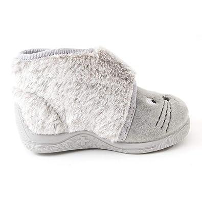 acheter populaire 912f4 bb964 Bellamy Chaussons Fille Gris TOR: Amazon.fr: Chaussures et Sacs