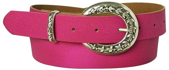 b644df6aa1b5 Fronhofer Ceinture bon marché pour femme dans des coloris estivaux, ceinture  en cuir, ceinture