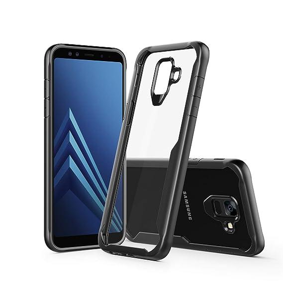 best service 57783 37064 Amazon.com: Samsung Galaxy A6 Case,Clear TPU Shock Absorption Bumper ...