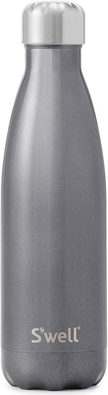 S'well Vacuum Insulated Stainless Steel Water Bottle, 500ml, Smokey Eye