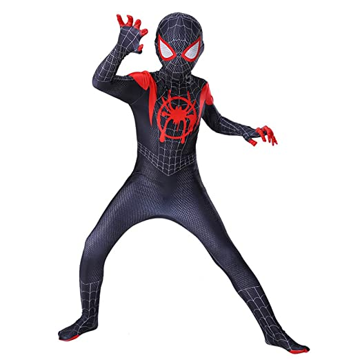 ZUOZHE Nios Adulto Spiderman Expedición De Héroes Cosplay ...