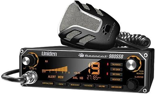 Radio CB Uniden Bearcat 980 de 40 canales SSB