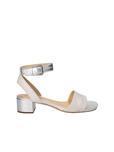 Femme Sandales Silver White Clarks 26131265 pour Orabella A7Uw1qw