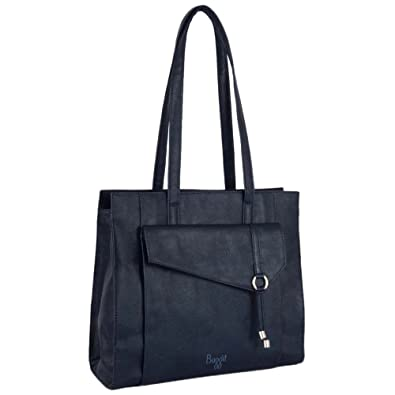 Baggit Women s Tote Bag (Navy Blue)  Amazon.in  Shoes   Handbags e649de39e2