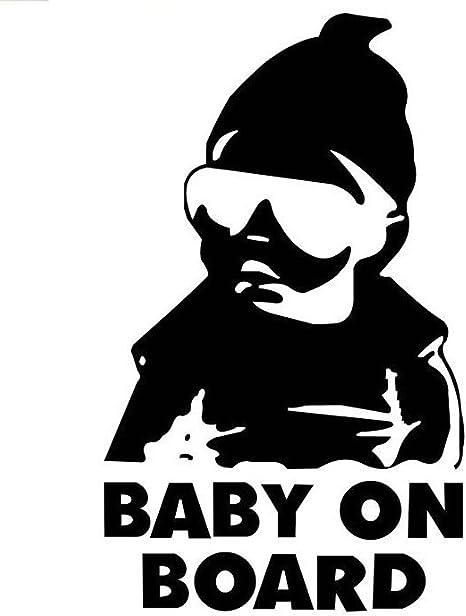 Baby On Board  Vinyl Sticker Window Decal Hangover Carlos Funny Laptop Car Truck