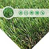Pet Pad Artificial Grass Patch 7 FT x13 FT(91 Square FT)- Realistic & Thick Fake Grass Mat For Outdoor Garden Landscape Pet Grass Rug Turf By PET GROW