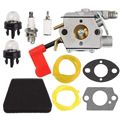 Anzac WT-628 Carburetor Air Filter Tune up kit for Craftsman Sears Poulan  32cc Gas Trimmer Weedeater Pole Pruner PPB100 PPB200 PPB300 PPB350 PP031