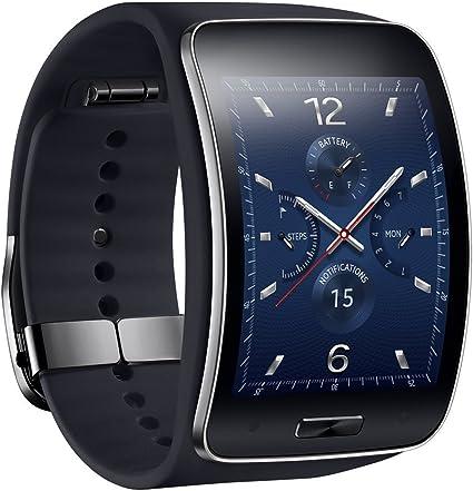 Amazon.com: Samsung Gear S SM-R750 (S/K) - Reloj inteligente ...