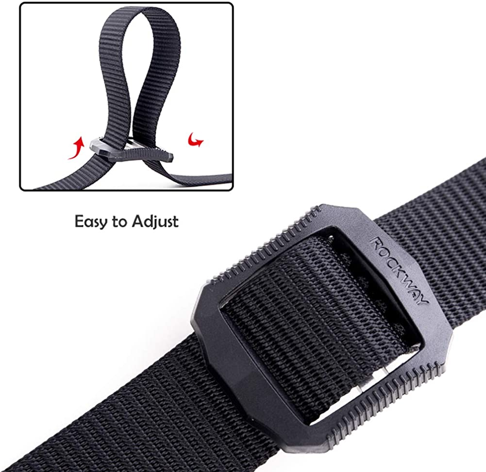 Breathable SOMIDE Nylon Tactical Belt Adjustable Webbing Waist Belt with Patented Design Buckle Military Style