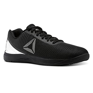 ac10213c560c free shipping reebok mens crossfit nano 7 sneaker met black silver met  8239a 1d98f