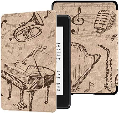 Estuches Paperwhite para Kindle Instrumentos Musicales y Notas Musicales Dibujados a Mano Kindle Nuevo Estuche Paperwhite Estuche con Auto Despertador/Reposo Estuche Kindle Paperwhite Reader 10th G: Amazon.es: Electrónica