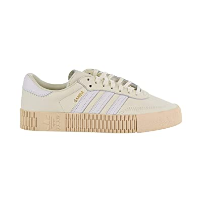 adidas Sambarose Women's Shoes Off White/Cloud White/Linen b28167 (11 B(M) US) | Running