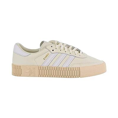 Amazon.com | adidas Sambarose Women's Shoes Off White/Cloud White/Linen b28167 (11 B(M) US) | Running
