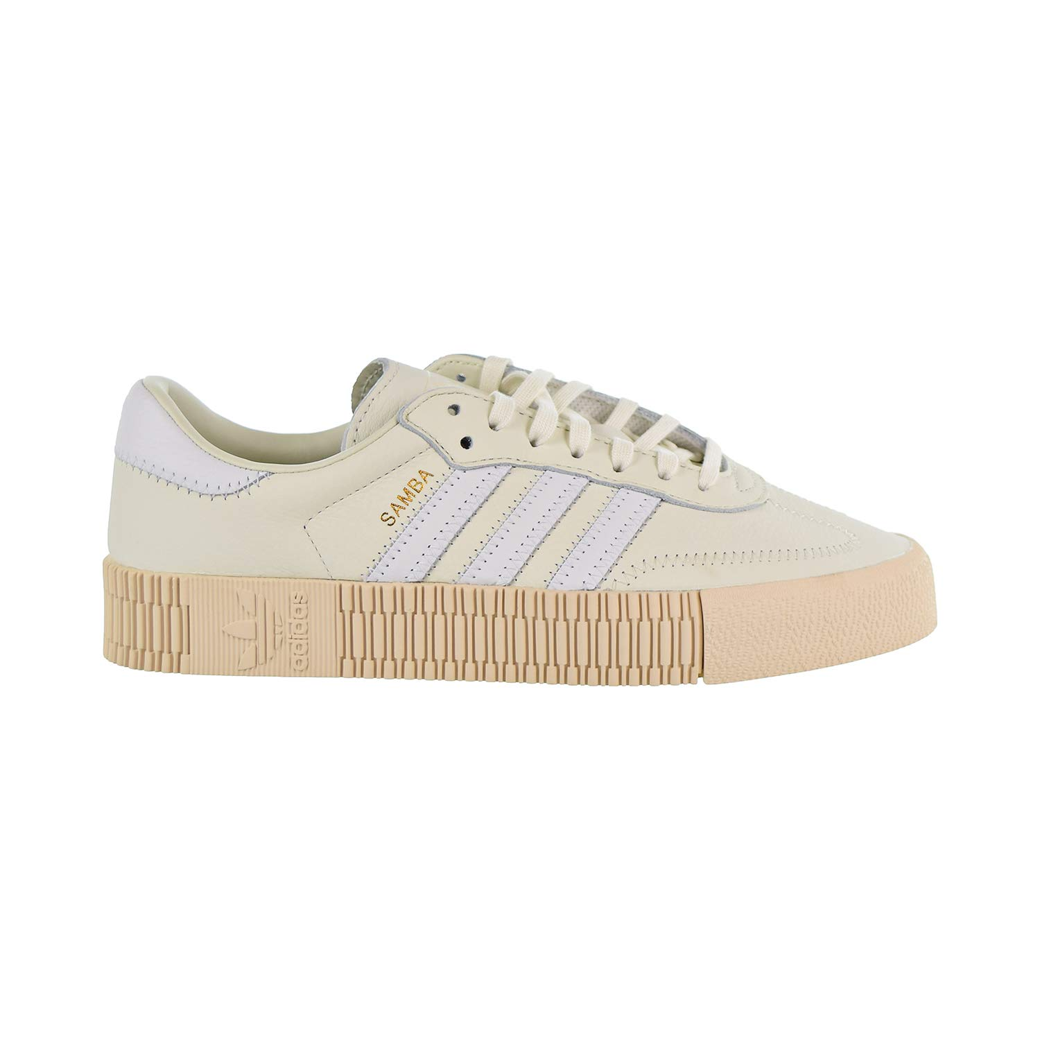 Amazon.com | adidas Sambarose Women's Shoes Off White/Cloud White ...