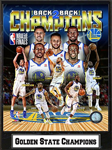 f4a3b8cf012 Amazon.com  Golden State Warriors 2018 Champs Deluxe 9x12 Plaque  Arts