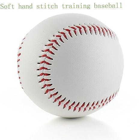 SOWOFA Balón de béisbol 9 pelotas suaves de entrenamiento con ...