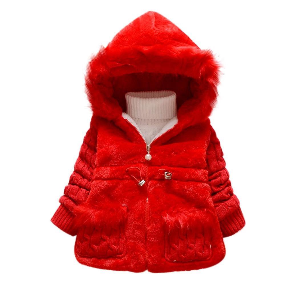 Famille Bébé Fille Outwear Manteau, Veste D'hiver Vêtements Chauds à Neige Famille-92908