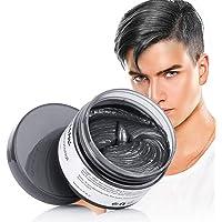 HuntGold Temporary Hair Color Wax Cream Mofajang for Men/Women Disposable DIY Hair Tool 120G