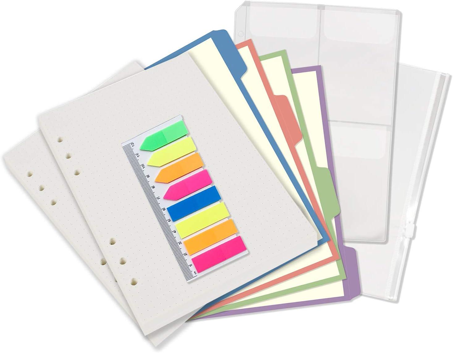 A5 A6 Kalendereinlage Einlage Planer Woche Einlage Filofax Papier Bunt Tagebuch