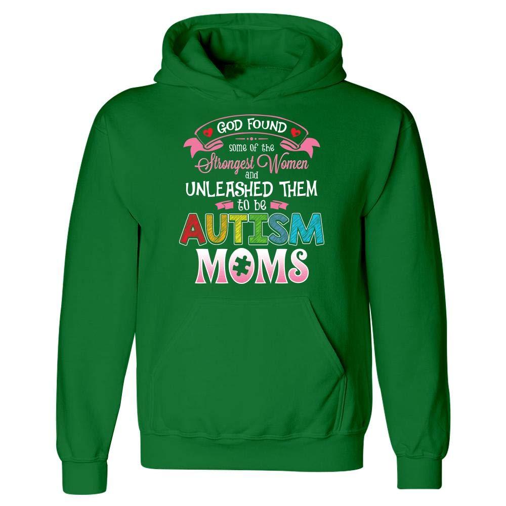 Autism Awareness Novelty Gift Amazing Moms Hoodie
