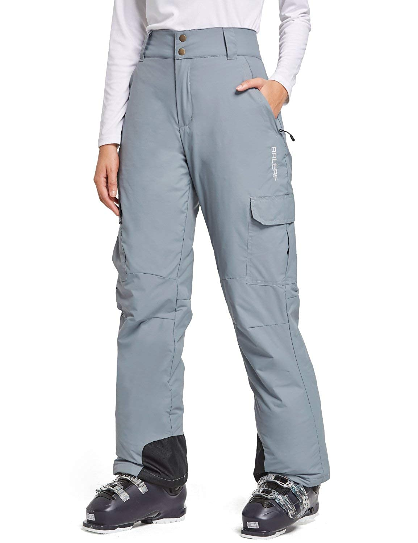 BALEAF/Womens/Ski Snow Pants/Insulated Snowboarding Pants Winter/Windproof//Waterproof 5K