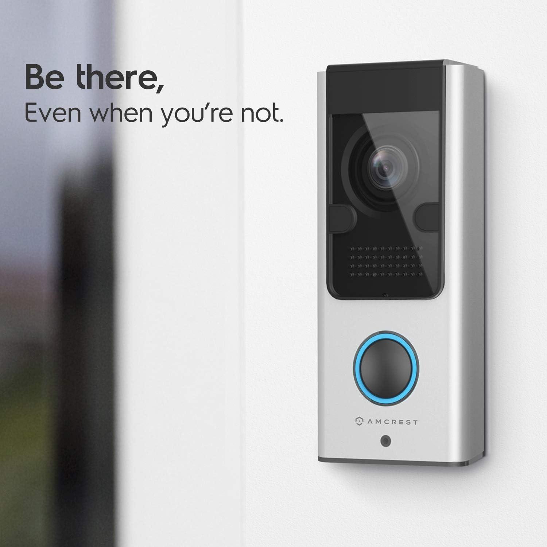 Amcrest 1080P -Best 2 way Video Doorbell Camera Pro