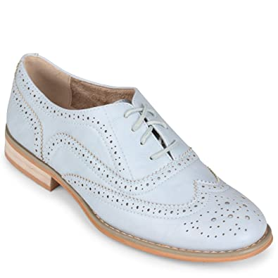 5d3fd48646 Amazon.com | Wanted Shoes Women's Babe Oxford Shoe | Oxfords