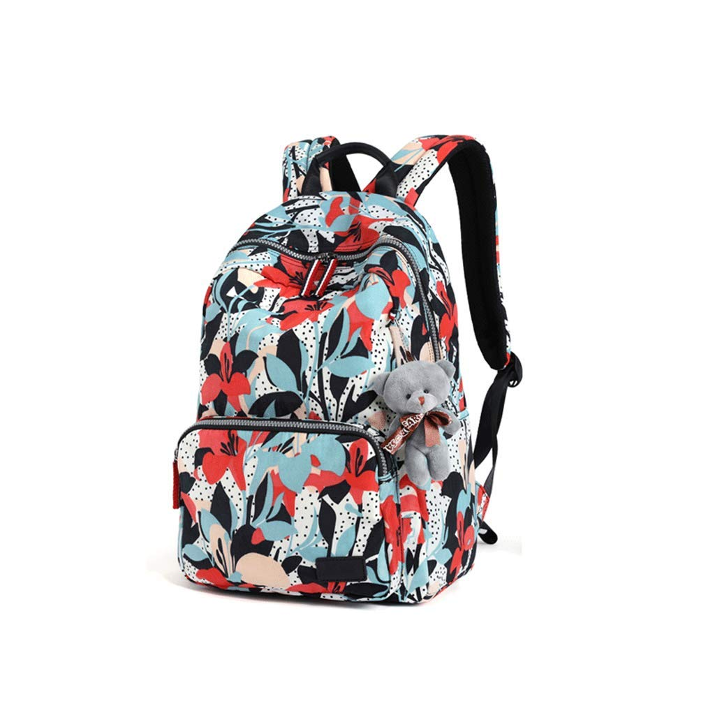 Backpack LCSHAN Shoulders Unisex Oxford Fashion Wild Casual Travel Nylon
