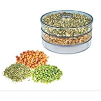 Gambit Plastic Sprout Maker - Medium (1.5 Liter) (Color May Vary)