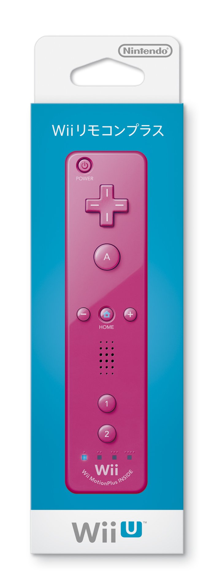 Nintendo Wii Motion Plus Wireless Remote Controller - Pink [Japan Import]