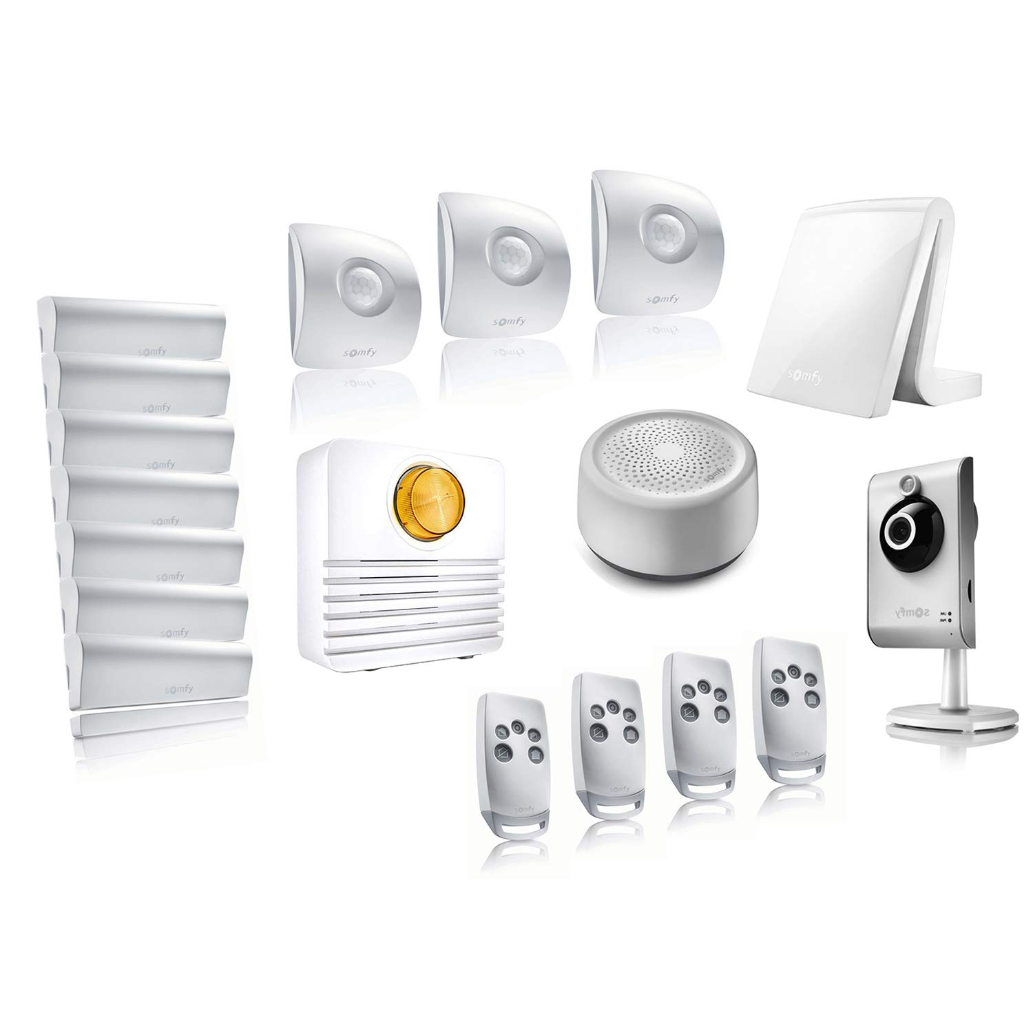 Somfy Tahoma - Video Kit 4 - Pack Alarma conectada Somfy ...