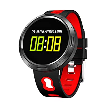NACATIN Montre Connectée Bracelet Connecté IP68 Etanche Fitness Bluetooth 4.0 pour Le Sport Android iPhone ios