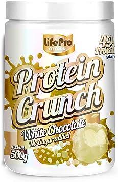 Life Pro Fit Food Protein Crunch 500g. Cereales Proteicos. Bolitas de Proteína Varios sabores. Bajo en Hidratos. Cuida tu alimentación. Hecho en ...