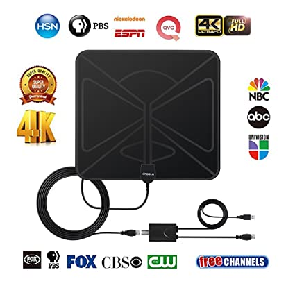 Review KINGELE Amplified HDTV Antenna,indoor