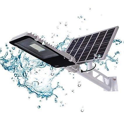 GAOYY Luz Solar Inteligente 50W Seguridad del Sensor De Movimiento Al Aire Libre Aplique Pared Impermeable