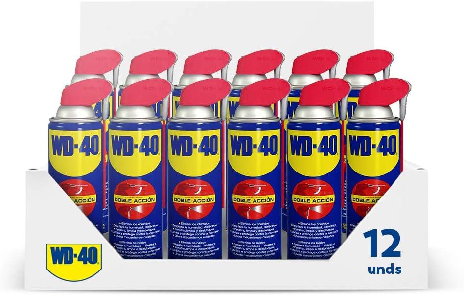 12x 500ml Wd 40 Smart Straw Multifunktionsöl Öl Multifunktionsprodukt Vielzweckspray Schmiermittel Rostlöser Kriechöl Sprühöl Schmieröl Dose Mit Integrierten Sprühkopf Baumarkt