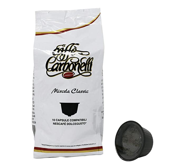 Cápsulas compatibles Nescafè Dolce Gusto* - Caffè Carbonelli ...