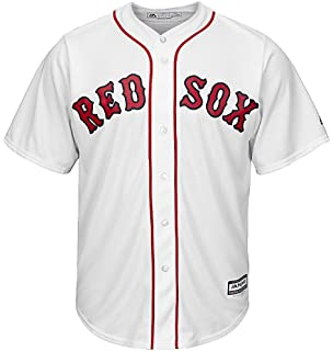 Amazon.com  Mookie Betts Boston Red Sox White Kids Cool Base Home ... acef684a99a