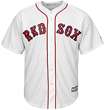 Amazon.com  Red Sox Home Replica Blank Back Youth Jersey  Clothing 48929f382a2
