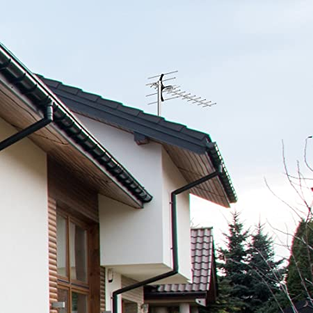 1byone Digital amplificada antena exterior