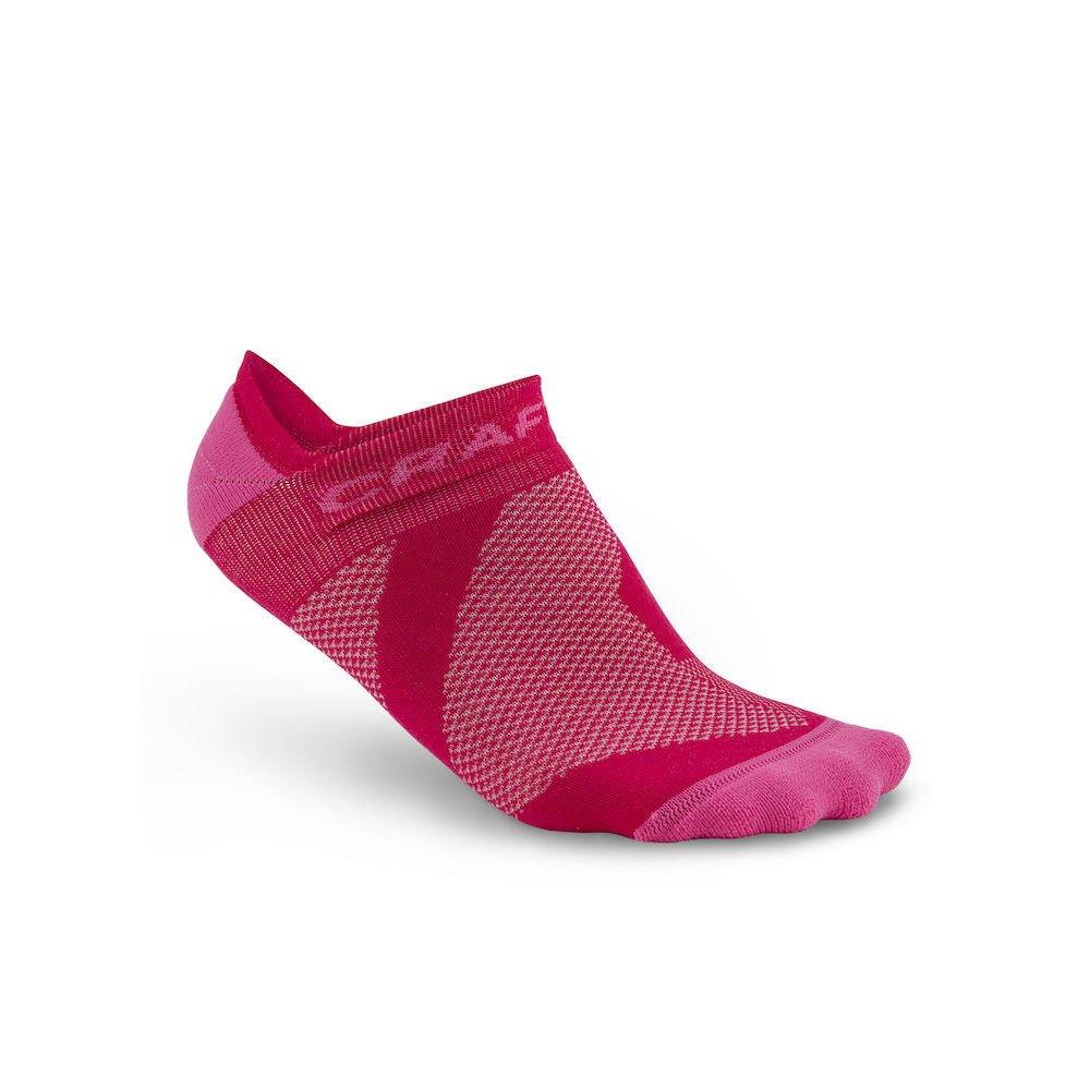 Craft Unisex 1903429-2999 Socken Cool 2-Pack Shaftless Socks Black