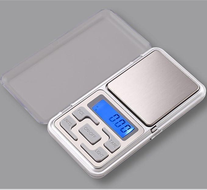 200 g × 0.01g, báscula digital, muy preciso, de wake-up